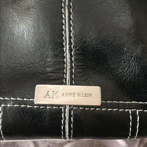 Anne Klein Bags - Anne Klein black leather purse